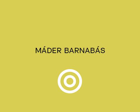 <ab>Máder Barnabás</ab>kerámiatanár