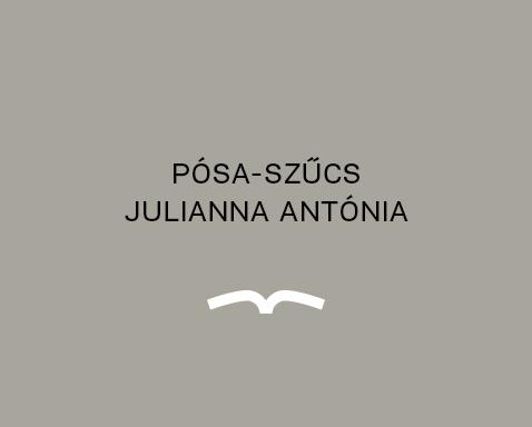 <ab>Pósa-Szűcs Julianna Antónia</ab>angoltanár