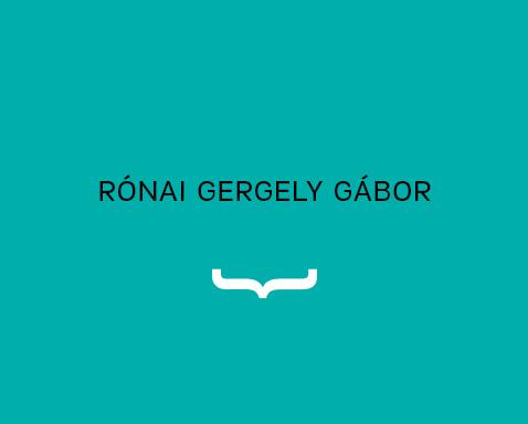 <ab>Rónai Gergely Gábor</ab>fotótanár<br>fotó szakirányfelelős